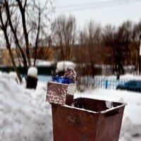подарок от деда Мороза - не понравился! :: Евгений Фролов