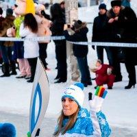 девушка с факелом :: Дмитрий Беликов