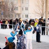 Эстафета параолимпийского огня :: Дмитрий Беликов