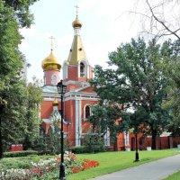 Храм Воскресения Христова на бывшем Семёновском кладбище. :: Геннадий Александрович