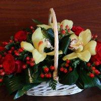 Цветы в корзине :: Aнна Зарубина