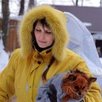 Дама с собачкой :: Алексей Golovchenko