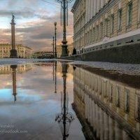 Вечер на Дворцовой площади :: Valeriy Piterskiy