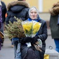 Цветочница. :: Александр Степовой