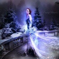 Магический амулет левитации Снежной Королевы :: Crying Silence