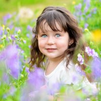 Девочка цветочек. :: Ольга Ротару