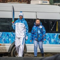 Эстафета Паралимпийского огня в Таганроге. :: Дмитрий -