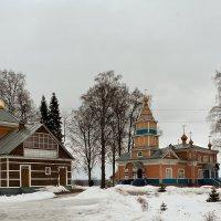 Важеозерский монастырь. :: Николай Тренин