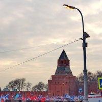 Митинг-концерт в поддержку жителей Крыма прошел 7 марта 2014г. в Москве :: Евгений Жиляев