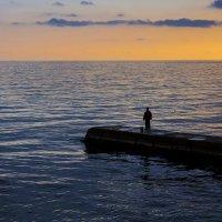 В ожидании золотой рыбки. :: Марина