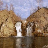 Водопад в Белово :: Марина Кузнецова