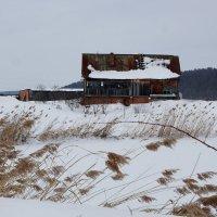 Одинокий домик :: Алексей Golovchenko