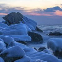 лёд,камень и вода :: Vladimir Nedosekin