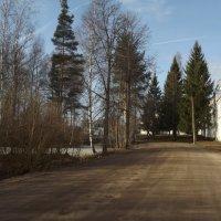 по дороге в монастырь :: Сергей Кочнев