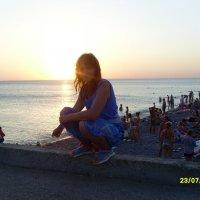 Морской закат! :: Елена