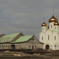 Храм в честь Святителя Стефана Пермского  в Южном Бутово :: Александр Качалин