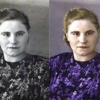 из ч/б в цвет :: Маргарита Кретова