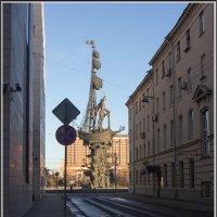 Самый бестолковый памятник Москвы :: Михаил Розенберг