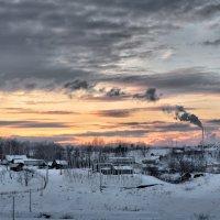 Морозным вечером :: Владимир Макаров