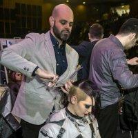 На чемпионате мира- в пылу борьбы-парикмахеры :: Shmual Hava Retro