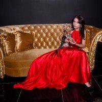Языки красного пламени и отблеск золота :: Наталия Макеева