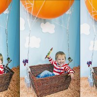 На большом воздушном шаре :: Эля Судоплатова