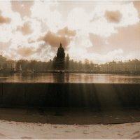 Петербург. Нева с видом на Исаакий :: Станислав Лебединский