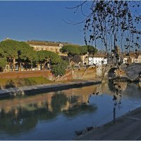 Рим, Тибр, мост Честио (Ponte Cestio) :: Татьяна Нестерова