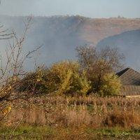 деревня в дыму :: Оля Cмирнова