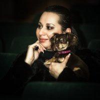 Дама с собачкой... :: Сергей Смоляков