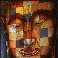 Клетчатый Будда (холст, масло) :: DimCo ©