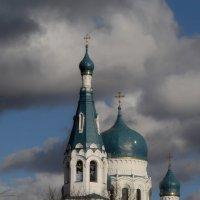 Гатчина. Покровский собор. Фрагмент (см. ком) :: Юрий Цыплятников
