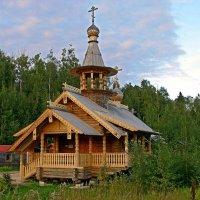 Церковь Серафима Саровского :: Людмила Алексеева