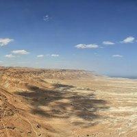 Вид с горы Массада :: Марина Назарова