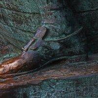 Нога Императора.(Фрагмент памятника Царь Плотник.) :: Александр Лейкум