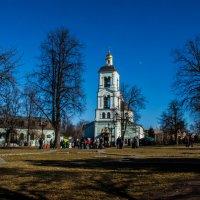 Церковь в Царицыно :: Виктор Перевозников