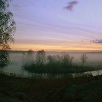 туман на реке :: Сергей