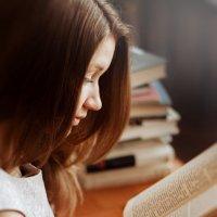 Библиотека, Книжка, Девушка. :: John Afanasyev