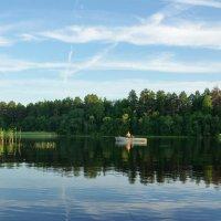 Фотограф на Бородаевском озере :: Валерий Талашов
