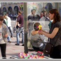 Мыльные пузыри на Невском :: vadim