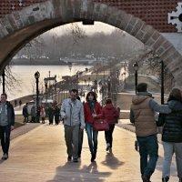 Царицынский парк. Мост через овраг на закате (2) :: Николай Ефремов