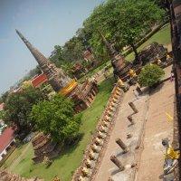 Wat Yai Chai Mongkol,  Аютхая,Исторический парк. :: Людмила Шустова