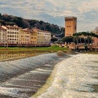 Флоренция. На реке Арно :: Лидия Цапко
