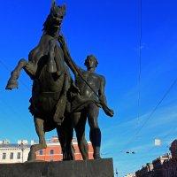 Знаменитые скульптуры Клодта. :: Александр Лейкум