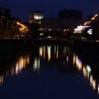 Москва ночная :: Ирина Дмитриева