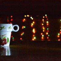 Кружка кофе на столе :: Андрей Долонин
