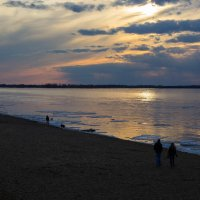 вечер на реке :: Арсений Корицкий