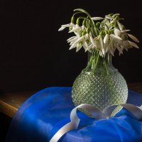 ... на синем! :: Ирина Чикида
