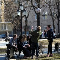 Забавы юных. :: Надежда Ивашкина