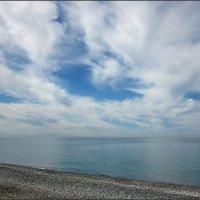 Расскажите облака о море... :: Виолетта